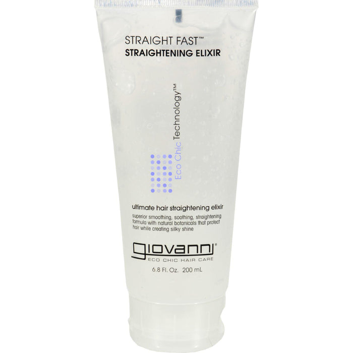Giovanni Straight Fast Straightening Elixir - 6.8 Fl Oz