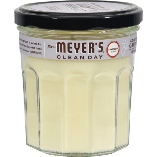 Mrs. Meyer's Soy Candle - Lavender - Case Of 6 - 7.2 Oz Candles