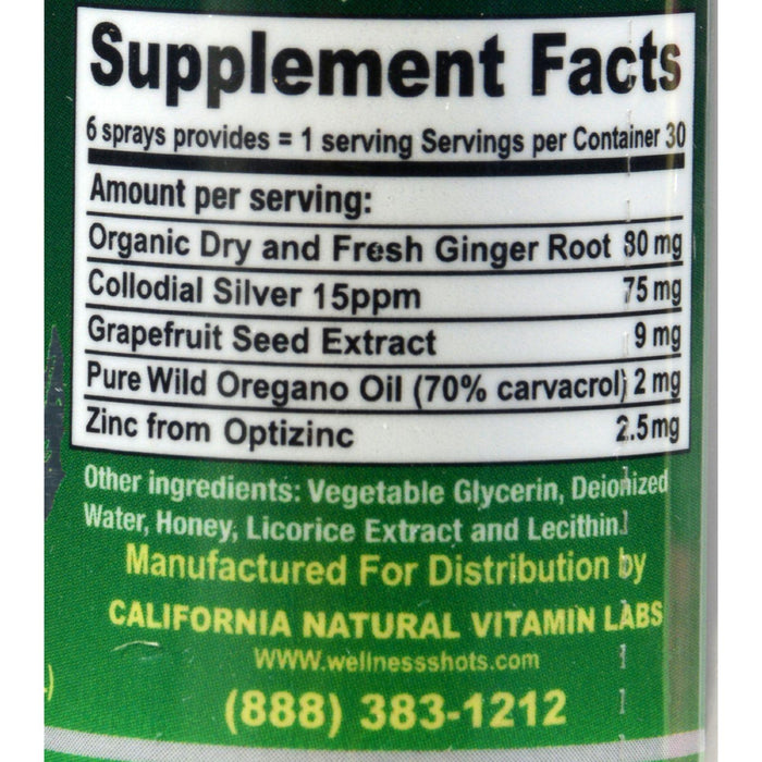 California Natural Immunity Shots - 1 Fl Oz