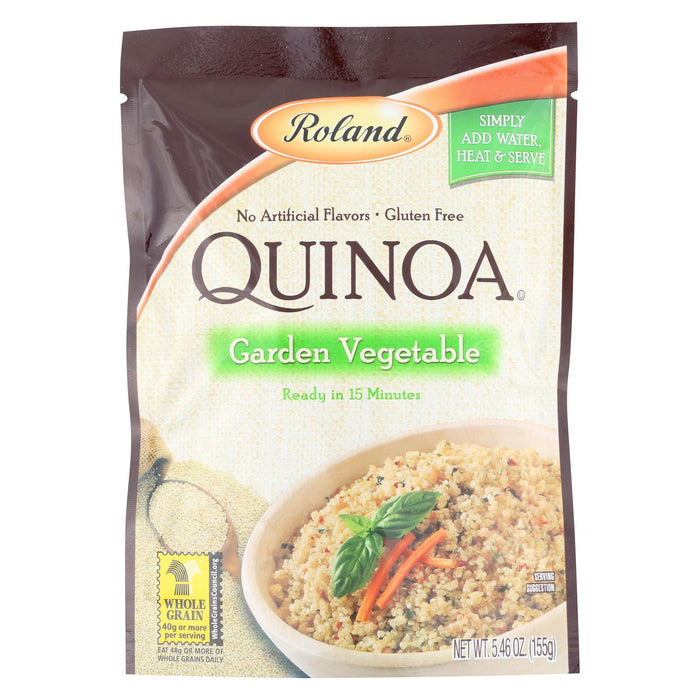 Roland Quinoa - Garden Vegetable - Case Of 12 - 5.46 Oz.