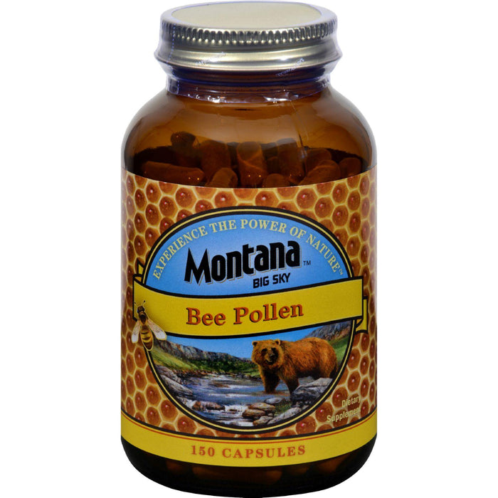 Montana Big Sky Bee Pollen - 150 Caps