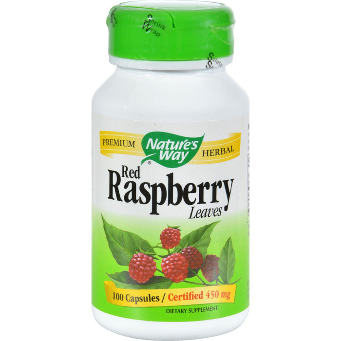 Nature's Way Red Raspberry Leaves - 100 Capsules