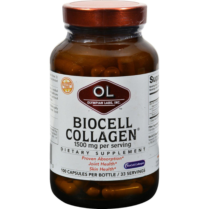 Olympian Labs Biocell Collagen - 100 Capsules