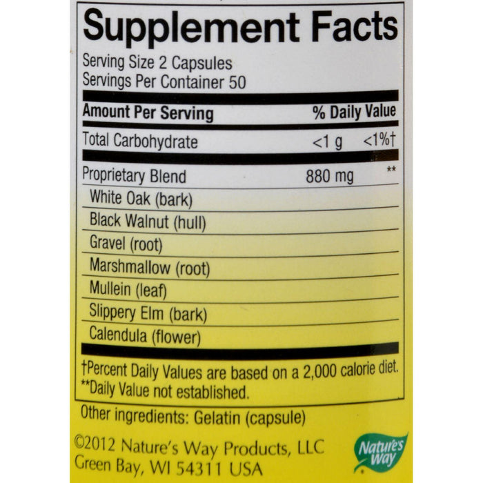 Nature's Way Bone Flesh And Cartilage - 100 Capsules