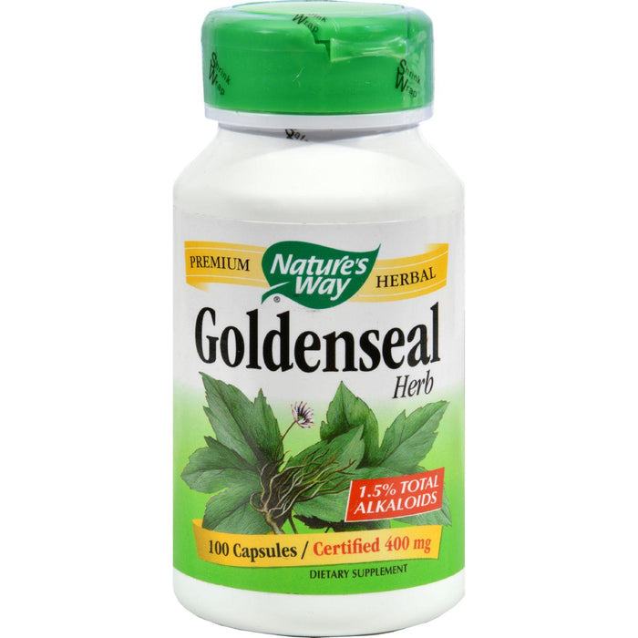Nature's Way Goldenseal Herb - 100 Capsules