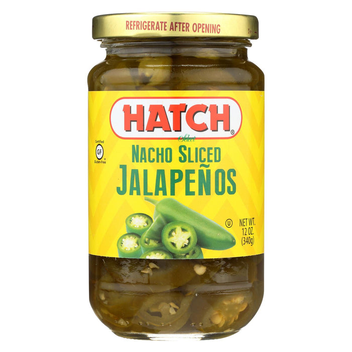 Hatch Chili Jalapenos - Nacho Sliced - Case Of 12 - 12 Oz