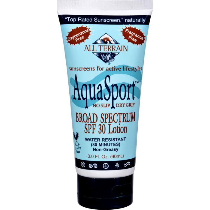 All Terrain Aquasport Spf 30 Sunscreen - 3 Fl Oz