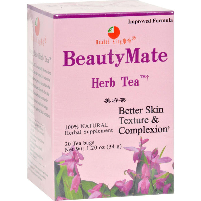 Health King Beautymate Herb Tea - 20 Tea Bags