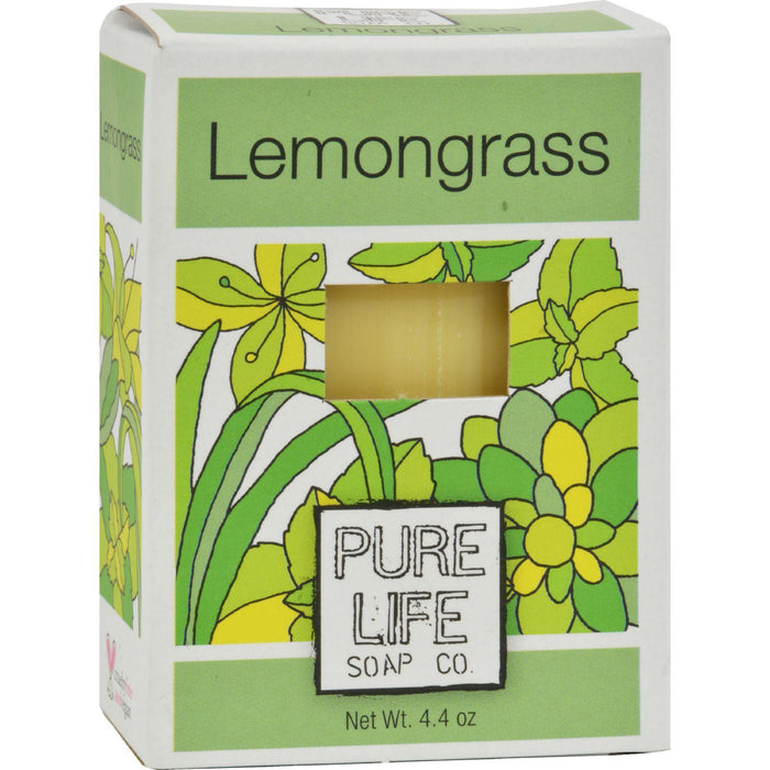 Pure Life Soap Lemongrass And Mint - 4.4 Oz