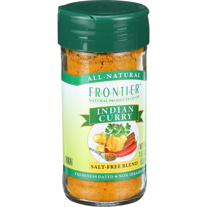 Frontier Herb International Seasoning - Indian Curry - 1.87 Oz