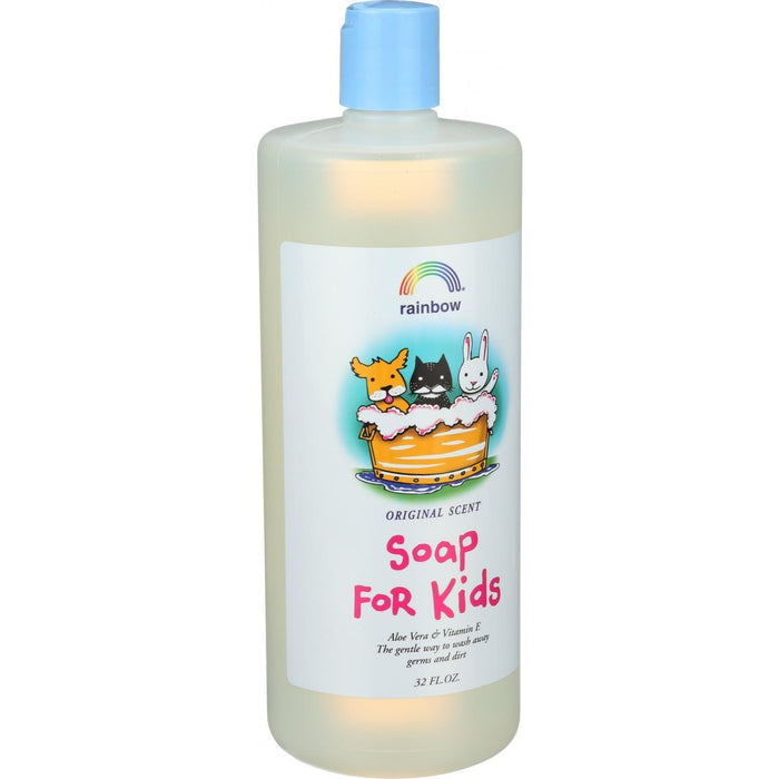 Rainbow Research Kids Hand Soap - Antibacterial - Refill - 32 Oz