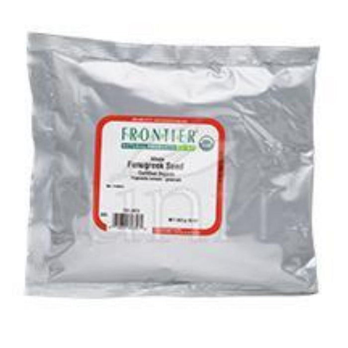 Frontier Herb Fenugreek Seed - Organic - Whole - Bulk - 1 Lb
