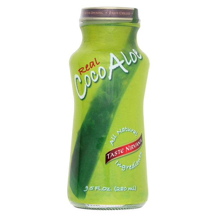 Taste Nirvana Coco Aloe - Case Of 12 - 9.5 Fl Oz.