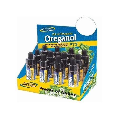 North American Herb And Spice Display Travel Oreganol - Case Of 12 - .25 Oz