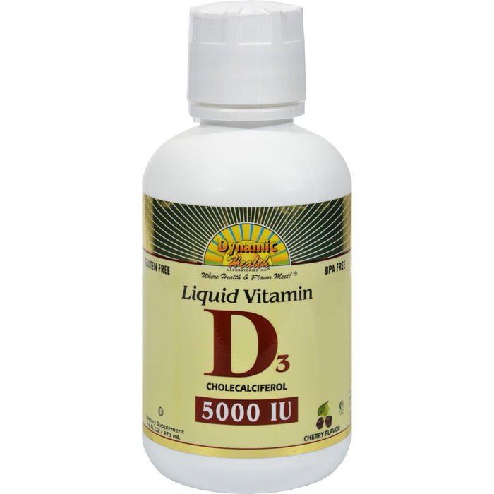 Dynamic Health Liquid Vitamin D3 Cherry - 16 Fl Oz