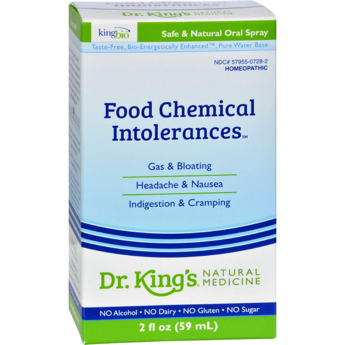 King Bio Homeopathic Allergy Food And Chemical Relief - 2 Fl Oz