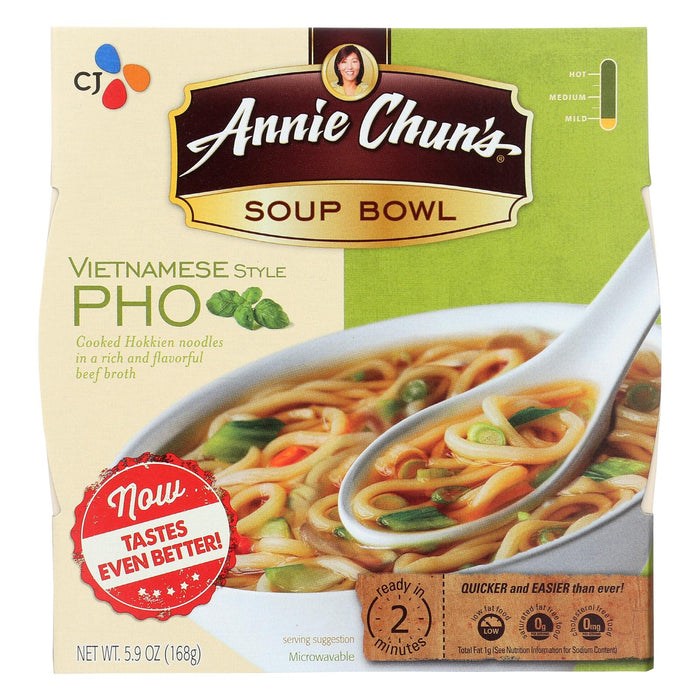 Annie Chun's Vietnamese Pho Soup Bowl - Case Of 6 - 6 Oz.