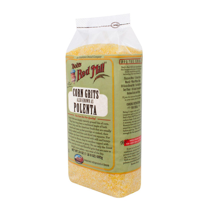Bob's Red Mill Corn Grits - Polenta - 24 Oz - Case Of 4