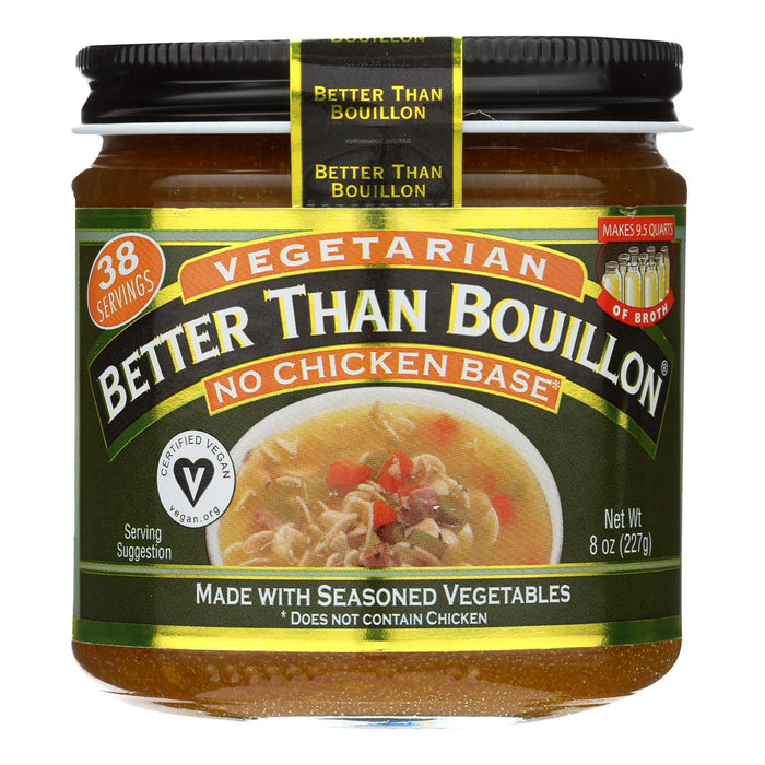 Better Than Bouillon Paste - No Chicken Base - Case Of 6 - 8 Oz.