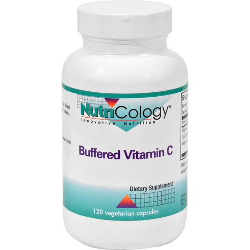 Nutricology Buffered Vitamin C - 120 Capsules