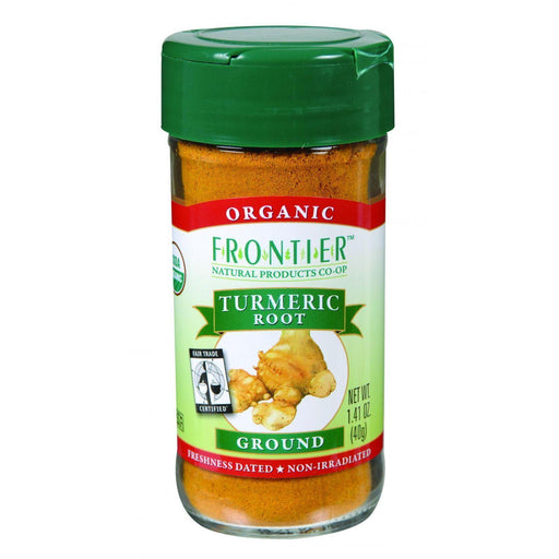 Frontier Herb Turmeric Root - Organic - Fair Trade Certified - Ground - 1.41 Oz
