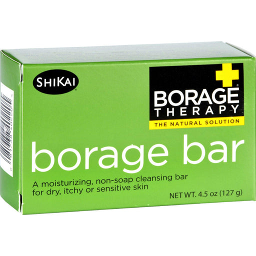 Shikai Products Cleansing Bar - Non Soap - Borage - 4.5 Oz