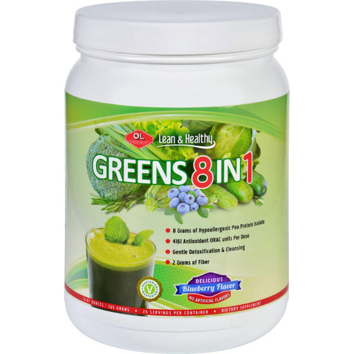 Olympian Labs Protein - Greens 8 In 1 - 365 G
