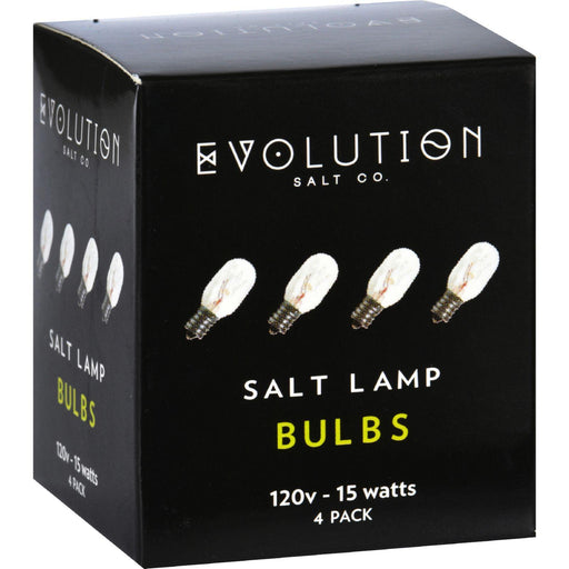 Evolution Salt Bulb - Clear - 15 Watt - Pack Of 4
