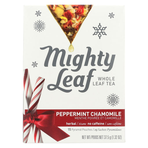 Mighty Leaf Tea Tea - Peppermint Chamomile - Case Of 6 - 15 Count