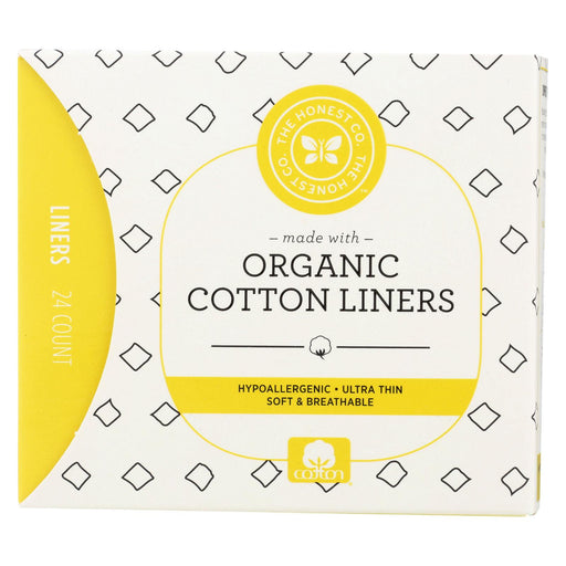 The Honest Company Liners - Cotton - 24 Count