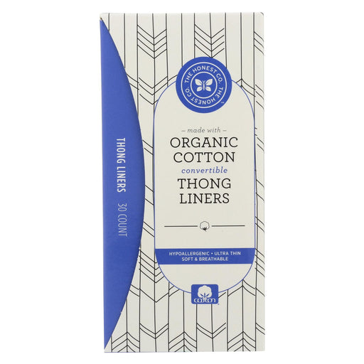 The Honest Company Cotton Liners - Thong - 30 Count