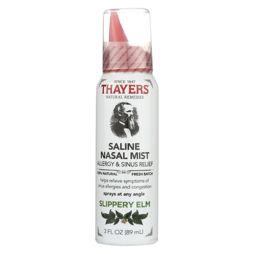 Thayers Slippery Elm - Nasal Mist - 3 Fl Oz