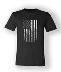 T-Shirt (Distressed Flag - Bella)