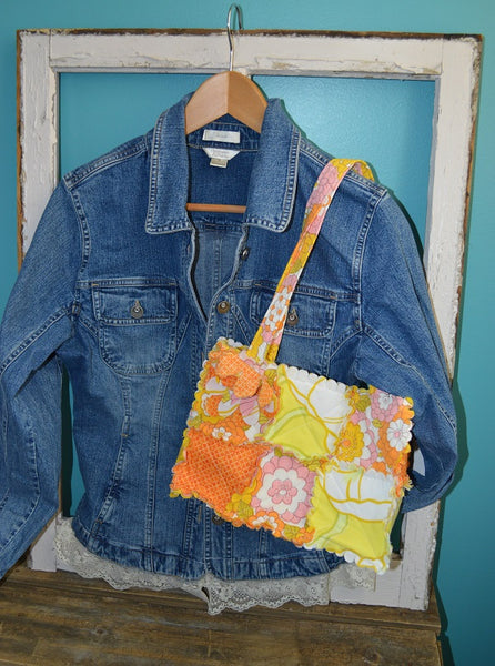 Re-purposed Vintage Jean Jacket