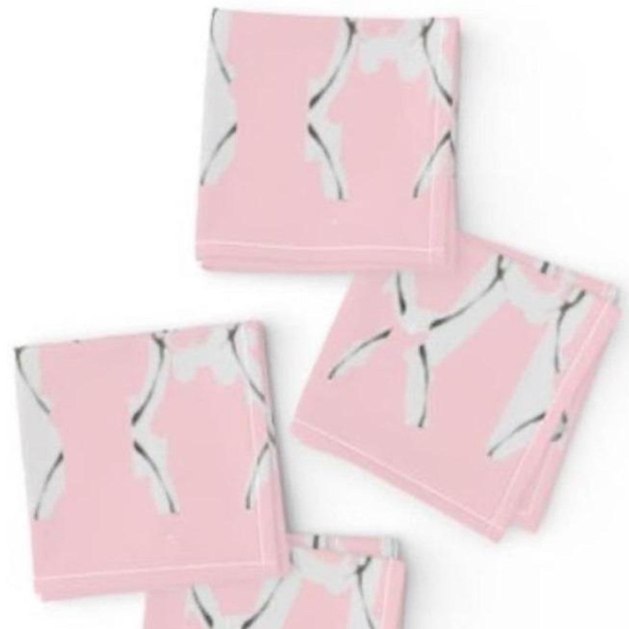Pink Walker Cocktail Napkins