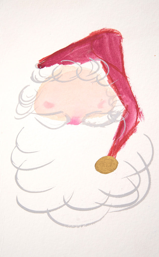 Santa Watercolor