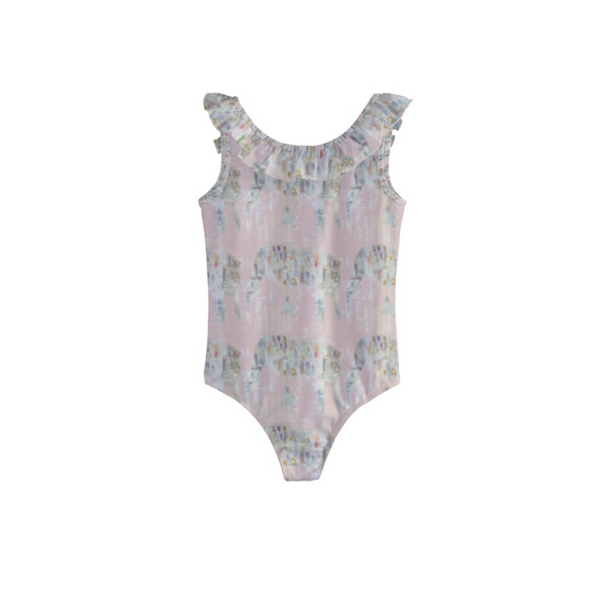Blush Majesty Girls' Swimsuit