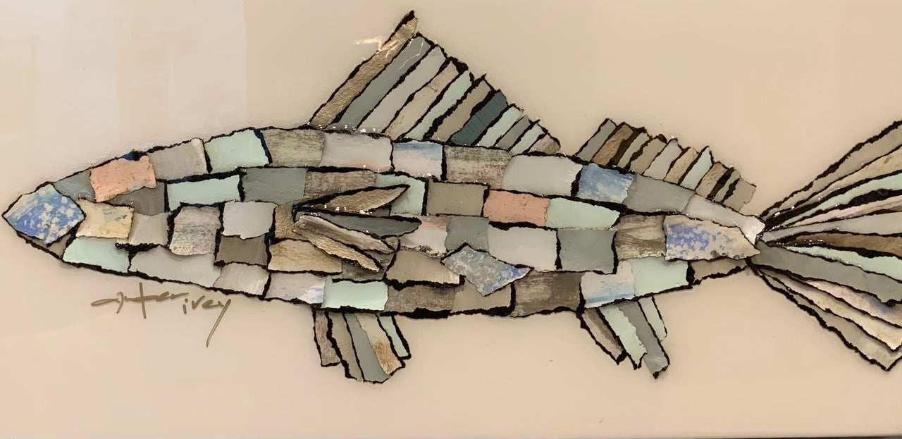 Torn Abstract Fish