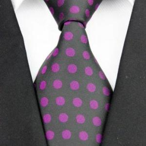 Charcoal Pink Polka Dot - J.Cooper Classic Neckwear & Accessories