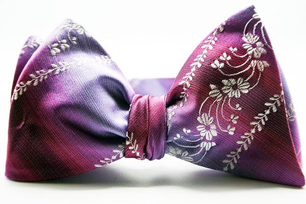 Baby Breath Self Tie Bow And Pocket Square - JCC