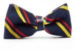 Navy Blue Red Yellow Bow - J.Cooper Classic Neckwear & Accessories
