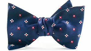 Fearless Self Tie Bow And Pocket Square - J.Cooper Classic Neckwear & Accessories
