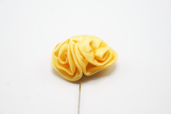 Yellow Rose Lapel Flower - J.Cooper Classic Neckwear & Accessories