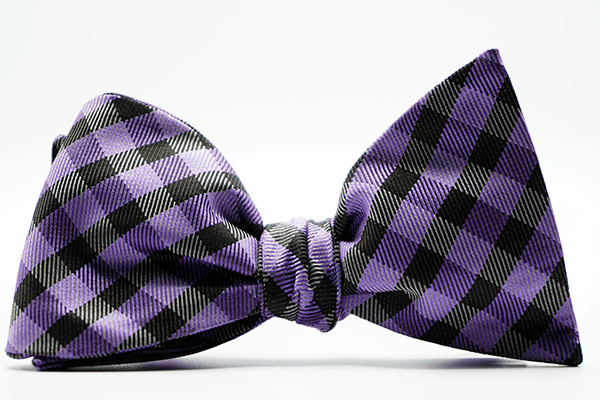 Lewis Demarest Self Tie Bow And Pocket Square - J.Cooper Classic Neckwear & Accessories