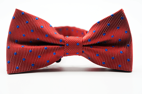 Red Blue Micro Dot - J.Cooper Classic Neckwear & Accessories