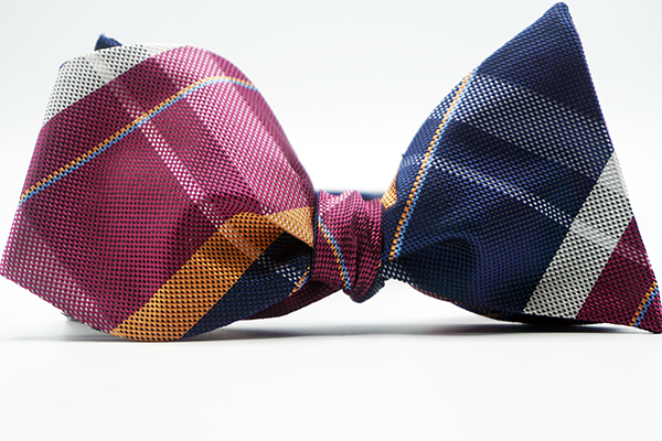 Framework Bow Tie and Pocket Square - J.Cooper Classic Neckwear & Accessories