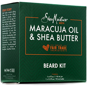 Shea Moisture Beard Oil & Balm Grooming Kit For Men, Organic All natural Maracuja & Shea Oils, Beard Conditioning Oil, 3.2 Ounce & Beard Balm, 4 Ounce. Moisturize & Soften : Beauty - J.Cooper Classic Neckwear & Accessories