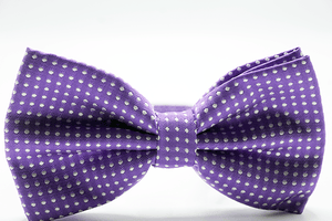 Purple White Micro Dot - J.Cooper Classic Neckwear & Accessories