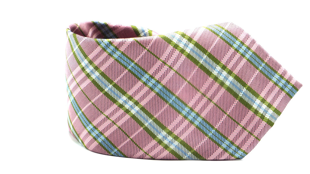 King Charles Plaid Necktie - J.Cooper Classic Neckwear & Accessories