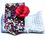 Hydrangea Floral Combination - J.Cooper Classic Neckwear & Accessories